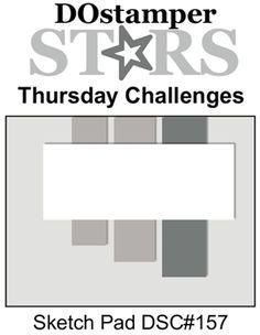 DOstamperSTARS Thursday Challenge DSC#157 Sketch