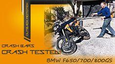 BMW F650/700/800GS crash bars crash tested - Outback Motortek