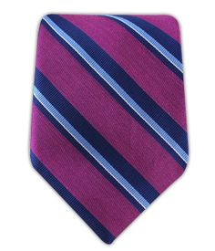 Social Stripe - Azalea (Linen) | Ties, Bow Ties, and Pocket Squares | The Tie Bar @thetiebar