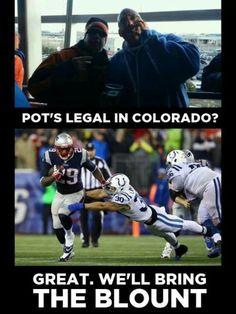 Blount New England Patriots