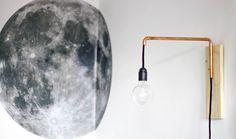 DIY : fabriquez une lampe murale en cuivre