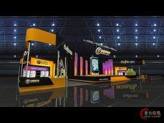 九城游戏2展台设计