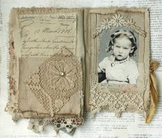 MIXED MEDIA COLLAGE BOOK OF GIRLS WITH ATTITUDE   eBay