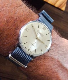 My vintage Omikron watch
