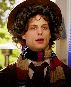 Matt Gubler as 4th Doctor. Perfect. I was so excited when I saw this eposode!