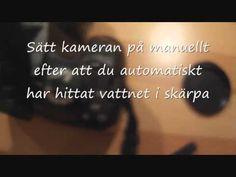 How to: Fota vatten - YouTube