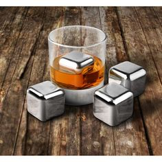 Costco: Final Touch® 13-pc. Stainless Steel Ice Cube Set