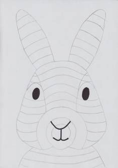 Classroom Crafts, Classroom Fun, Bunny Crafts, Easter Crafts, Elephant Crafts, Bunny Face, Rabbit Art, Easter Art, Kindergarten Art