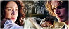 #Outlander Jamie and Claire @samheughan @caitrionambalfe