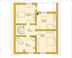 Einfacher grundriss  Schöner Grundriss für eine Doppelhaushälfte   Haus Grundriss ...