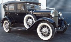 1930 Model A Ford Tourer, The Untouchables, Wedding Cars from the 1920s and 1930s, Tasmania