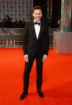 On the BAFTA Red Carpet, 8 Feb 2015