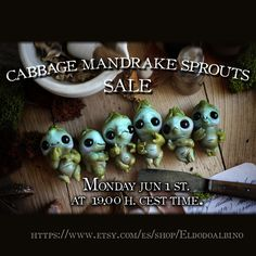 These Little mandrakes are one of my last creations. Check availability at Etsy : www.etsy.com/shop/Eldodoalbino