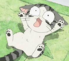 cute anime cat gif | Tumblr