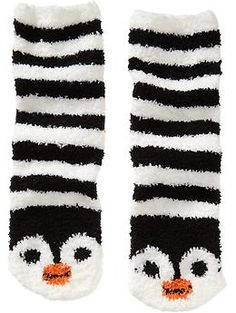 """Today I found my pin under """"Fuzzy Socks""""! I love fuzzy socks for the cold months! And aren't these little penguins adorbs? Fluffy Socks, Cozy Socks, Slipper Socks, Slippers, Fishnet Socks, Winter Socks, Red Stripes, Sock Shoes, Stocking Stuffers"""