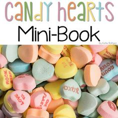 Conversation Hearts Mini Book {Freebie!} | This FREE download is a fun and new way to use candy conversation hearts in your classroom! This mini-book is full of math activities that use conversation hearts, including counting, estimation, non-standard measurement, ten frames, comparing sets, & addition! You'll love that this activity goes beyond the typical sorting and graphing of conversation hearts, and your students will love the interactive, edible fun! Perfect for Kindergarten & 1st grade.