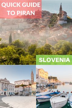 A quick guide to Piran, Slovenia's charming coastal town with Italian feel and Venetian influence. Discover how to enjoy a visit to Piran.