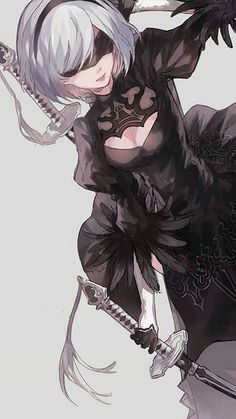 Wall paper anime kawaii manga girl Ideas for 2019 Nier Automata, Fanart, Manga Girl, Manga Anime, Anime Girls, Kawaii Anime, Character Art, Character Design, Comics Anime