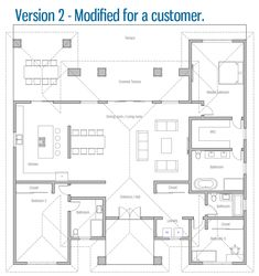 house design house-plan-ch569 25 The Plan, How To Plan, Small House Plans, House Floor Plans, Earth Bag Homes, Earthship Home, Earthship Plans, Straw Bales, Natural Building