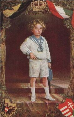 Kronprinz Otto von Österreich, Crown Prince Otto of Austria by Miss Mertens, via Flickr