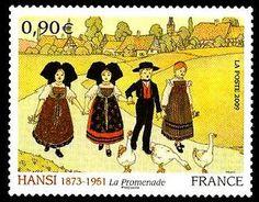 France Stamp 2009