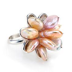 Esty Grossman  – Seaside-Pearl Ring