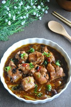 A dim sum delight which I much adore ! And this time round, I added a premium touch to it with some XO sauce, making it more delightful than usual ! I often have the issue of cooking with fermented soya beans as I am always too generous with them, […] Pork Rib Recipes, Tofu Recipes, Asian Recipes, Cooking Recipes, Oriental Recipes, Smoker Recipes, Chinese Recipes, Sauce Recipes, Yummy Recipes