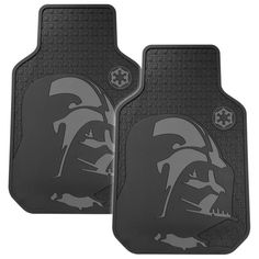 Floor mats for people on the dark side of the Force. | 21 Awesome Products From Amazon To Put On Your Wish List