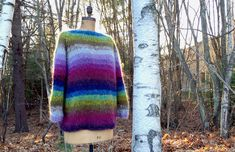 """LaGran 2 Strand Sweater  I love the wide neck, gauge of 2.25sts/1"""", MOD to Spring with Cottonish yarn?"""