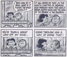 Charlie Brown on Sound Theology. Christian Comics, Christian Humor, Christian Life, Christian Quotes, Christian Living, Christian Signs, Christian Resources, 5 Solas, Snoopy Comics
