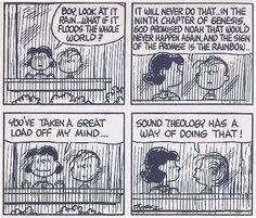 Linus on sound theology