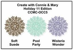 soft suede, pool party, wisteria wonder