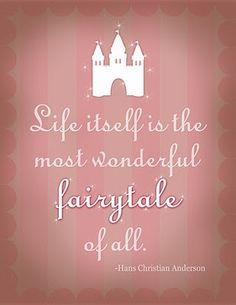 The most wonderful fairytale...