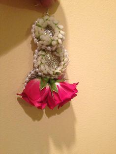 Fresh flower earrings