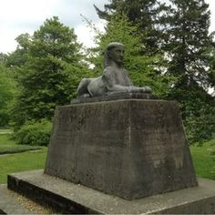 Spring Grove Cemetery, Garden Sculpture, Outdoor Decor, Artwork, Work Of Art, Auguste Rodin Artwork