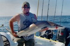 Myrtle Beach Shark Fishing Is Great For Those Who Have A Desire To Catch One Of