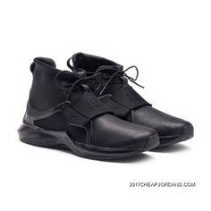4b94df8c8ee7 FENTY TRAINER HI MENS SNEAKERS Puma Black-Puma Black Style Number 191001-01  Lastest