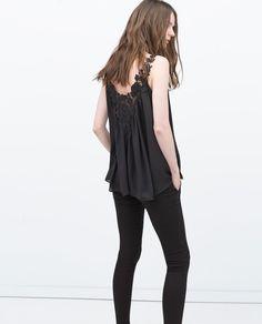 Imagen 5 de TOP PECHERA CROCHET de Zara