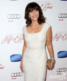 Mary Steenburgen arrives at The Television Academy's 22nd Hall of Fame Induction Ceremony