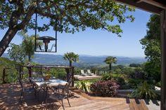 Back yard views from Million Dollar Views property
