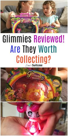 Glimmies collectable toy review - we have tried out the Glimwheel and Glimmies toys but did they live up to our expectations?