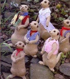 Crochet mircats