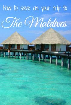 How to have a luxury vacation in the Maldives for less. #travel #maldives #luxury #beach