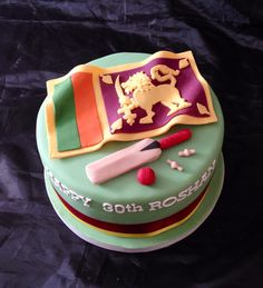 Sri Lanka Cricket Cake