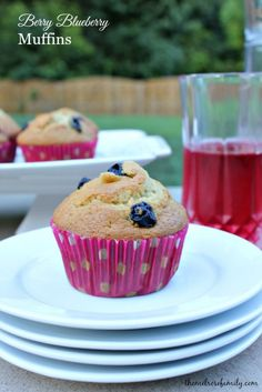 Berry Blueberry Muffins