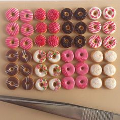 Tiny donuts in 1/12 scale #dollhouse #miniature food | Flickr - Photo Sharing!