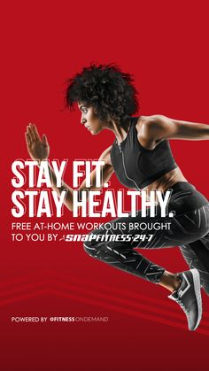 Snap Fitness has partnered with FitnessOnDemand to offer FREE 90-day access to a special library of virtual workouts that can be done at home! This offer is available to everyone! Visit snapfitness.com/freeapp to get your sweat on at home! Special Library, Stay Fit, How To Stay Healthy, At Home Workouts, Bring It On, Fitness, Free, Home Fitness, Keep Fit