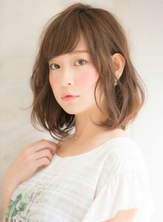 誰でも似合うゆるふわボブ 【HONEY】 http://beautynavi.woman.excite.co.jp/salon/27644?pint ≪ #bobhair #bobstyle #bobhairstyle #hairstyle・ボブ・ヘアスタイル・髪型・髪形 ≫