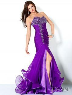 Purple Beautiful Dress