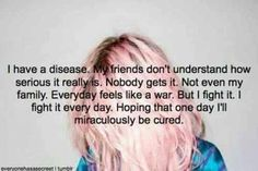 SI Joint dysfunction/degeneration, Rheumatoid Arthritis, Degenerative Disc Disease, Herniated Disc's, Neuropathy, Sciatica, Insomnia, Depression...this is my life..noone understands...